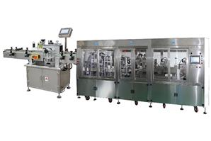 Integrated Vacutainer Production Line (after labeling)